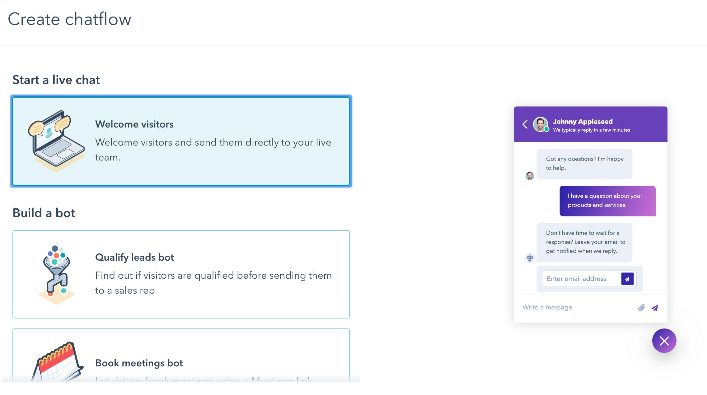 skapa-chatbot-hubspot